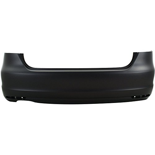 CAPA Certified Rear BUMPER COVER Primed compatible with 2011-2015 Volkswagen Jetta
