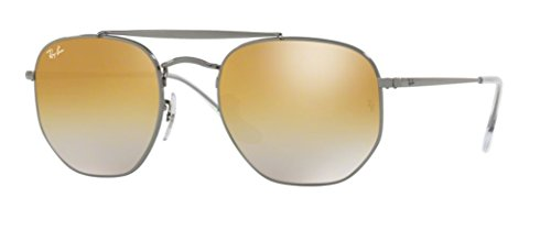 brown Mirror The Rb3648 Sunglasses ban Ray Gunmetal Marshal Silver x8gY6