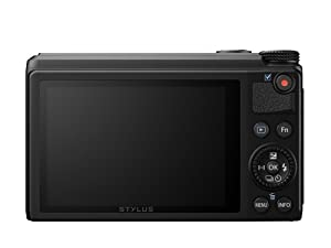 Olympus XZ-10 iHS 12MP Digital Camera with 5x Optical Image Stabilized Zoom and 3-Inch LCD (Black) (Old Model) from Olympus