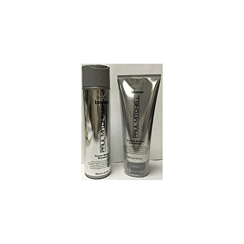 Paul Mitchell Keractive Forever Blonde Shampoo, 8.5 oz &Conditioner, 6.8 oz SET (DUO)
