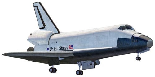 Flight Model Kit - Revell SnapTite Space Shuttle Plastic Model Kit