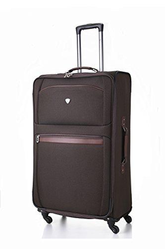 "Aerolite® Lightweight Suitcase Trolley Cases Bag Luggage (21"" 26"" 29"" 32"") (32"", Choc)"
