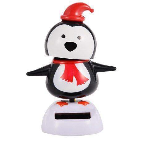 Creative Practical Nodding Dolls Dancing Toy Car Christmas Furnishing Articles