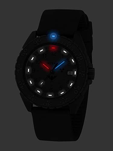 KHS Enforcer Black Titan CR XTAC KHS.ENFBTCRXT.SB med silikonband svart