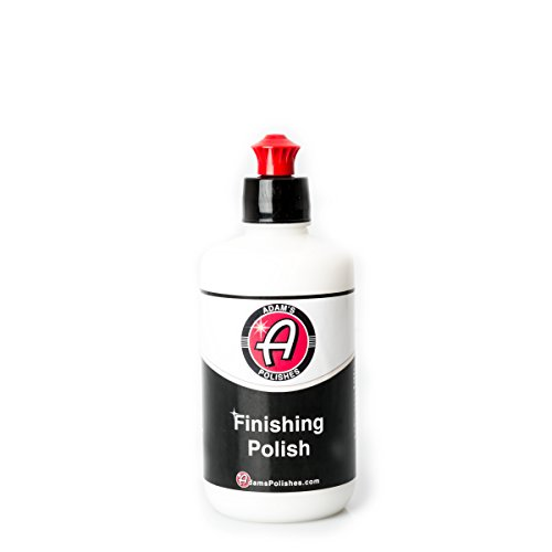 Adam's Polishes NEW Paint Finishing Polish 8oz - Infused With SiO2 Silica For Mind-Blowing Shine - Safe For Clear Coat, Single Stage, or Lacquer Paint - Stunning Results With Minimal Effort