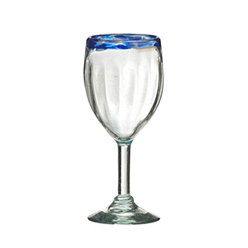 Global Amici Glass - Amici Pacifica Collection Goblet Glass - Set of 4