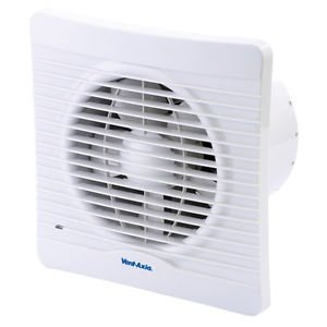 Vent Axia Silhouette 150x Utility Kitchen Extractor Fan Model No 454059a For 150mm 6