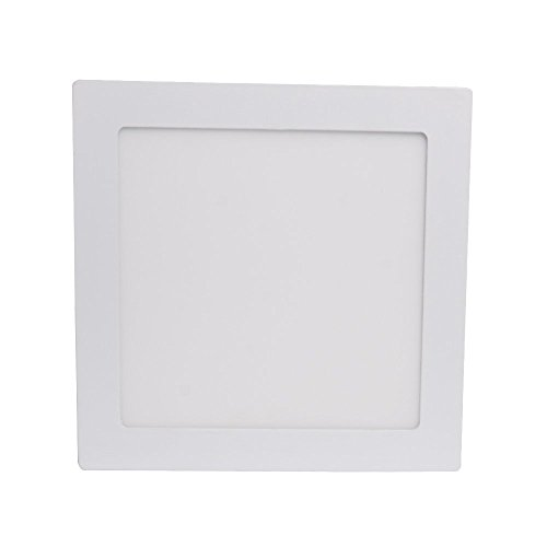 Excellent 90 LED 2835 SMD Surface Mounted LED Panel Light Ceiling Downlight Lamp Square 18W Warm White