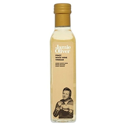 Jamie Oliver Pinot White Wine Vinegar 250g - Pack of 6 by Jamie Oliver