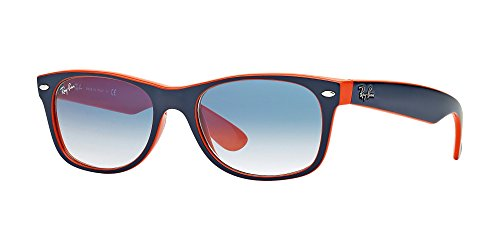 Ray Ban RB2132 789/3F 55M Blue-Orange/Gradient Light Blue+FREE Complimentary Eyewear Care Kit