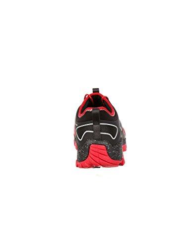 Black Rocky Trail Running Dual Sneakers Runner Mesh 4'' Men's Density Nylon Red wwSAaqvxr