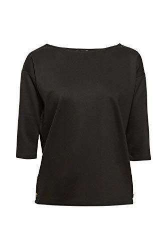 Esprit Camiseta Mujer 001 Negro Manga Larga black De Para rrnTfqv