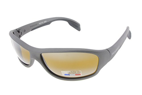 a3d4164b20 Vuarnet VL 0113 0005 7184 Dark Grey with Brown Skilynx Lenses ...