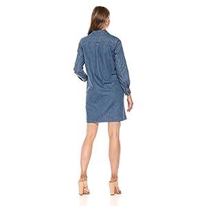 Lucky Brand Women's Denim Popover Dress