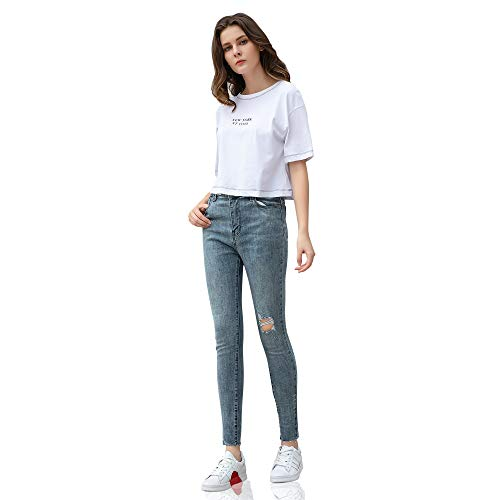 Bleu Skinny Jeans Jeans Jeans Femme DYLH Bleu DYLH Skinny DYLH DYLH Femme Bleu Femme Skinny UPwg76qn