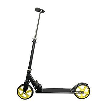 Amazon.com: Sunlite KS-1 Kick Scooter Black / Yellow Fun ...