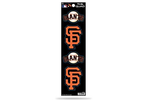 MLB San Francisco Giants Quad Decal