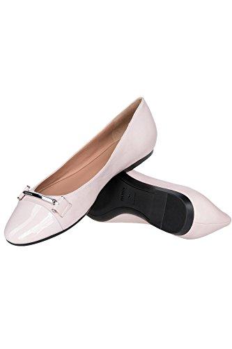 Boss Ballerina Lara Ballerina für Damen, 50386410 Rosa (681)