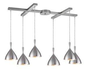 Spun Aluminum Pendant Light - 9