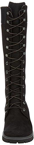 Timberland Womens Premium FTW_Womens Premium 14in WP Boot - Botas con forro para mujer Negro (black)