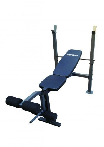 BestFitness Multi Position Weight Bench Incline Decline Flat Exercise Fitness by Best Fitness
