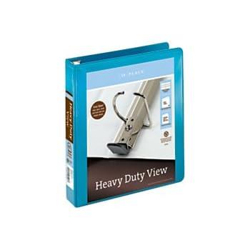amazon com in place heavy duty view binders with ez comfort d