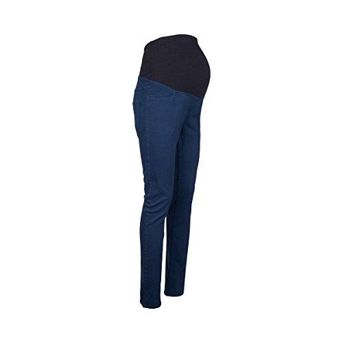 pitillo Pantalones 2hearts embarazo de azul d4nwqr47A