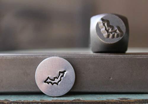 Brand New 7mm Halloween Bat Metal Punch Design