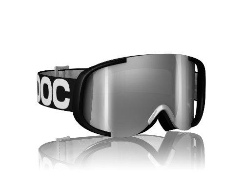 POC Cornea Mirror Goggles (Black/White/Red, One Size), Outdoor Stuffs