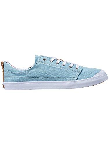 Reef GIRLS Walled Low Damen Sneaker, Steel blau