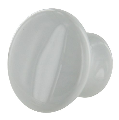 Amerock 1-1/2 -Inch Diameter Ceramic Knob, White #BP5322-54