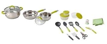 Brunner ACADEMY FRA310515 Stainless Steel Cooking Pot Set 4+1 Diameter 20 cm