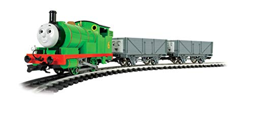 (Bachmann Trains - Thomas & Friend Percy and the Troublesome Trucks Ready To Run Electric Train Set - Large
