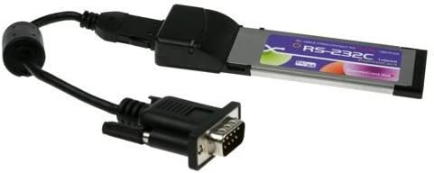 SERIALGEAR One Port RS-232 ExpressCard DB-9 Dongle for New Laptops