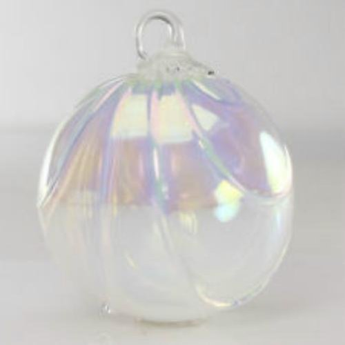 Glass Eye Studio Classic Snow Drape Ornament ()