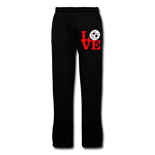 DAMEI Men's Jason Voorhees Terror Mask Sports Sweatpants Cotton - Bacon 13th Friday The Kevin