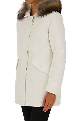 Wwcps26048270 Cappotto Bianco Donna Woolrich Poliestere zCqPZw