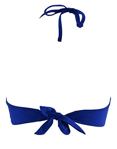ANI Ani de la mujer Azurita Bandeau Colbalt Blue
