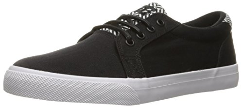 DC Men's SE Black Skate White Council Shoe TX rrqUZ
