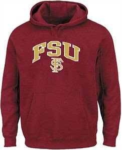 Outerstuff Youth Florida State Seminoles Garnet My School Embroidered Hoodie Sweatshirt (L=14-16)