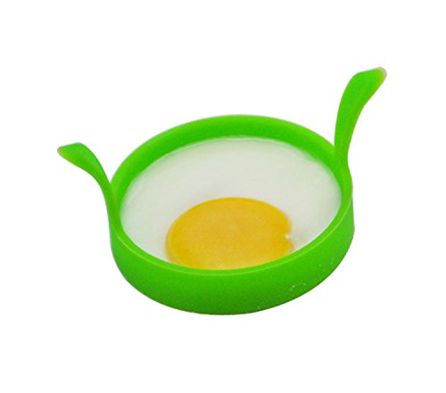 2pcs Kitchen Cooking Tools Silicone Fried Fry Frier Oven Poacher Pancake Egg Poach Ring Moul