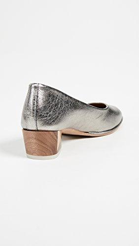 Coclico Shoes Womens EL CID Block Heel Pumps Silver nKEEv5RTf