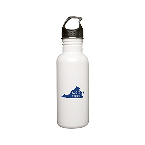CafePress - Virginia Stainless Water Bottle 0.6L - Stainless Steel Water Bottle, 0.6L Sports Bottle