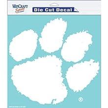 "NCAA Clemson University WCR36560071 Perfect Cut Decals, 8"" x 8"""