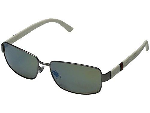 Gucci GG 2249/F/S (R8X3U) Rectangular Mens - Sunglasses Oversized Aviator Gucci