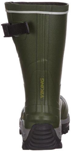 Viking Trapper Short Field, Bottes de Pluie Homme, Vert (green/black), 44 (10.5 UK)
