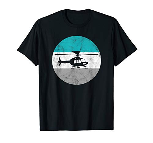 Helicopter Retro Gift For Men Women Boys & Girls - Helicopter Retro