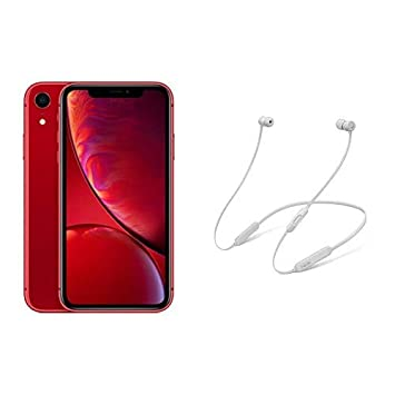 bc32df5103 Apple iPhone XR 64GB Red UK Model SIM-Free Smartphone with BeatsX Earphones  - Satin Silver: Amazon.co.uk: Kindle Store