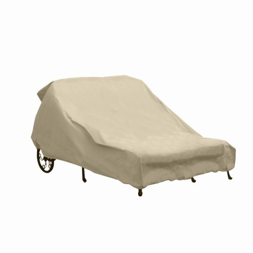 Hearth garden sf40237 double chaise lounge cover review for Chaise lounge cover