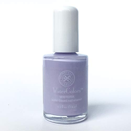(Honeybee Gardens Watercolors Nail Enamel Wisteria | Non Toxic | Water-Based | Earth Friendly)